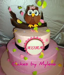 Look Whoo's Turning 1 | by Cakes By Mylene