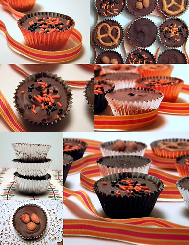 Homemade Peanut Butter and Dark Chocolate Caramel Cups | by CinnamonKitchn