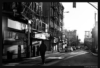 Delancey & Clinton, Lower East Side - Into the Sun | by leonem
