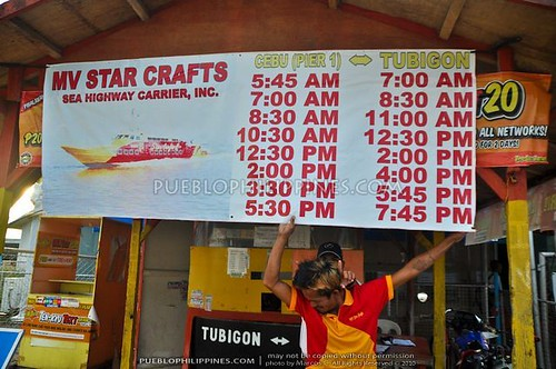 Starcraft Schedule - Tubigon Port - Bohol (723) | by Marcos Detourist