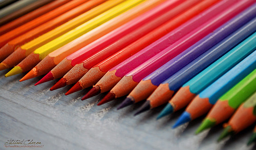 Colored Pencils II - Rainbow Colors | by tibs17