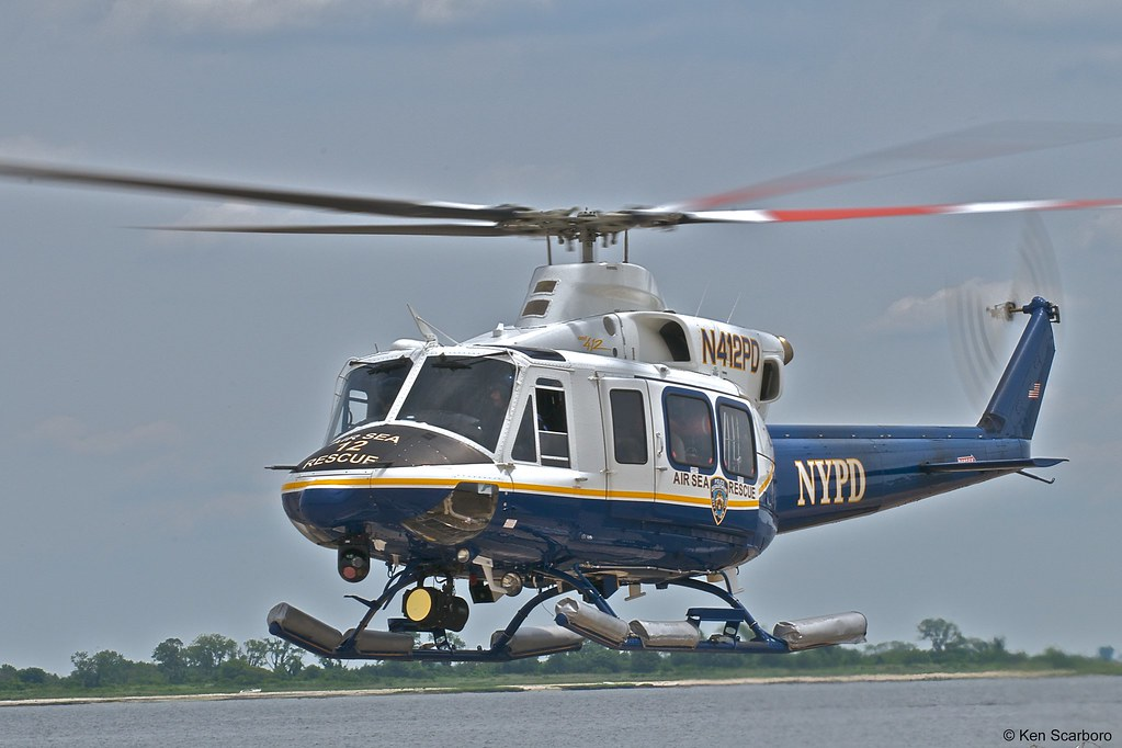 FSX NYPD Air Sea Rescue Bell 412 Hovercontrol - The Paint Request