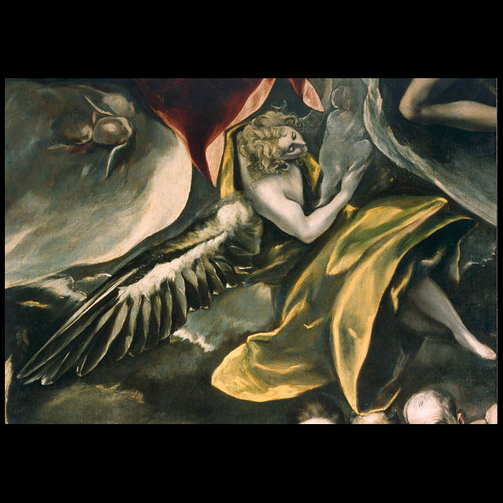 O Enterro do Conde de Orgaz - El Greco