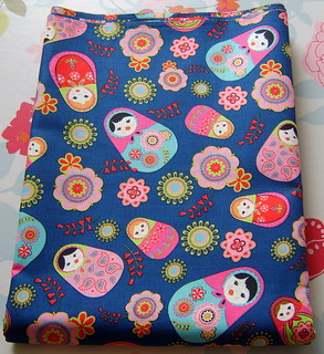 pretty russian doll fabric | by www.madebylova.wordpress.com