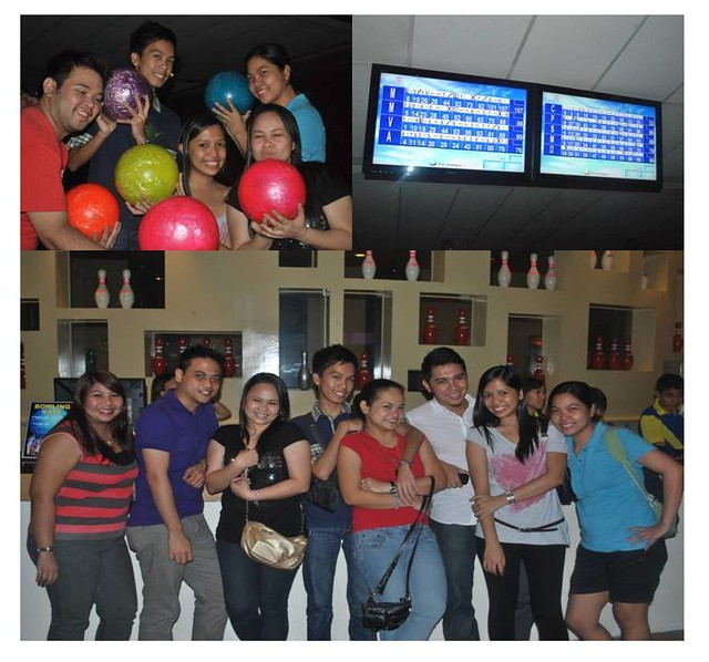 With Friends at Paeng's Bowling Center