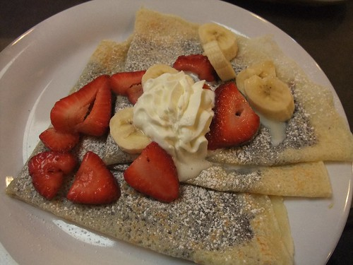 Nutella Crepes with Strawberries and Bananas from Giant Eagle Market District Kingsdale | by swampkitty