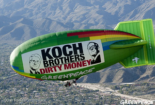 Koch Brothers Deliver Dirty Money Meeting | by Greenpeace USA 2016