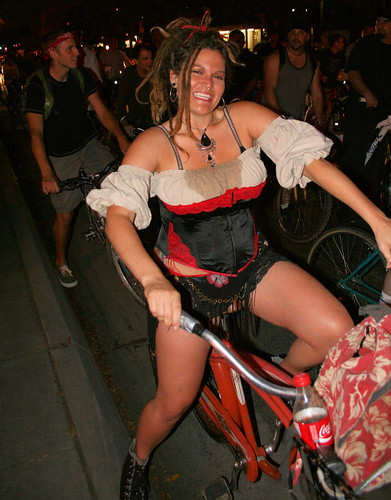 A Coke and a Smile. And a bustier. | by Richard Masoner / Cyclelicious