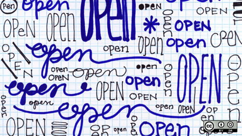 Open is beautiful and it's everywhere (Credits: OpenSourceWay)
