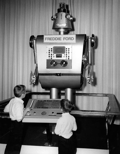 1973 Freddie the Ford Mustang Factory Robot | by hastingsgraham