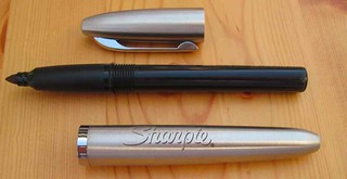 Stainless Steel Sharpie Refillable Permanent Marker: Disassembed | by Note Booker, Esq.