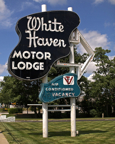 White Haven Motor Lodge R.I.P. | by FotoEdge