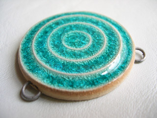 Beautiful Blue pendant! | by artisanclay