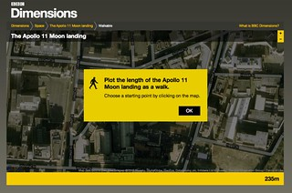 BBC - Dimensions - Creating a walkable route of the Apollo 11 Moonwalks | by BERG Studio