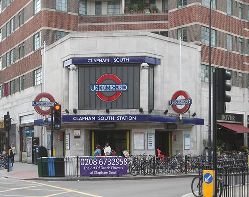 Clapham South Underground station