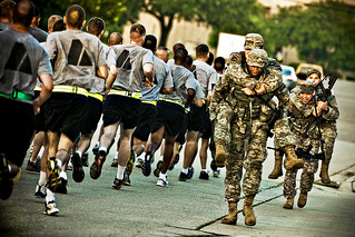 Buddy run | by The U.S. Army