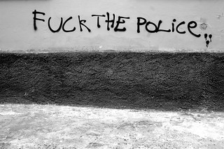Fuck the police | by Ochaviere