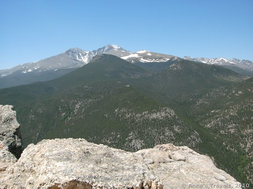 Long's Peak from Lily Mountain, Rocky Mountain National Park, Colorado