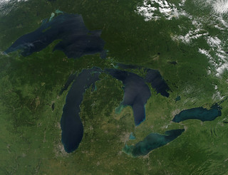 Great Lakes, No Clouds | by NASA Goddard Photo and Video
