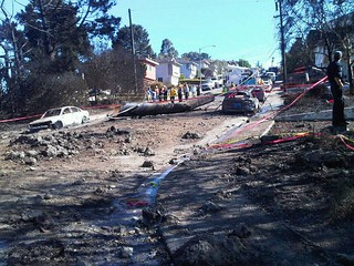 Close Up Pictures of Gas Line Explosion Damage | by A Name Like Shields Can Make You Defensive