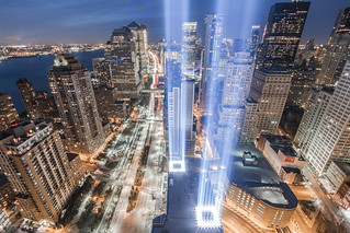 The 2010 Tribute in Light (9/11 Memorial) | by RBudhu