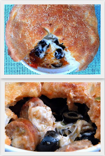 Pizza Pot Pies | by CinnamonKitchn