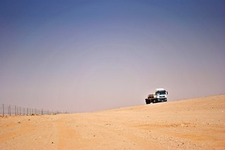 lonely desert trucker | by zbigphotography (1M+ views)
