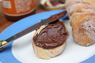 hazelnut chocolate spread | by David Lebovitz