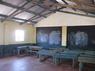 New Classrooms and desks from Moving Mountains, opened Sept 2010, Village 2, Solio Settlement, C. Kenya | by Moving Mountains Trust