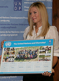 Maria Sharapova | by United Nations Development Programme