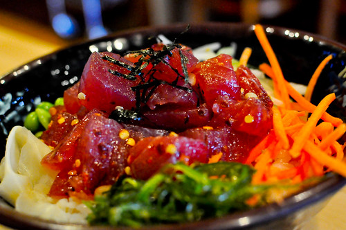 Ahi Tuna Poke Bowl ~ FishTail Grill, Valencia, California | by r.e. ~