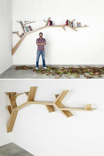 branch bookshelf | by the style files