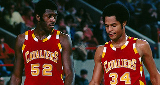 Austin Carr and Jim Brewer | by Cavs History