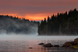 Steaming lake | by Evgeni Dinev