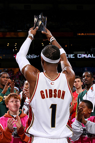 2007 Rookie Challenge MVP Daniel Gibson | by Cavs History