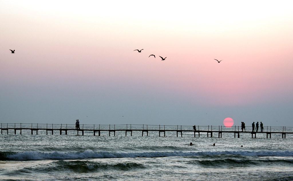 Sunset in Dzhemete (Anapa)