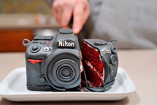 New inspiration: Nikon D700 Camera Cake. Photographers, This One's For You ! | by New Inspiration Home Design