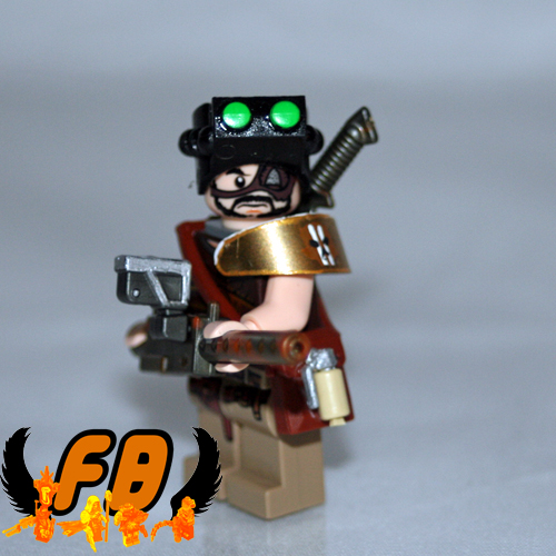 TEST FIGURE | by Brick Mercenaries Custom Minifigures