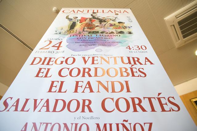 01-230118 Presentación Cartel Taurino Cantillana