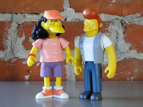 playmates world of springfield action figures, series 3 · series 6: otto, snake (2001) | by j_pidgeon