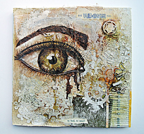 Mixed-media-canvas-for-artists-collaboration