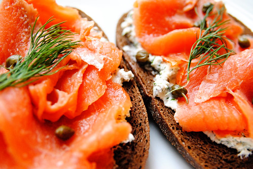 Smoked Salmon Toasts | by Sophie Idsinga