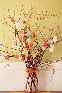 The Thankful Tree | by Simply Vintagegirl