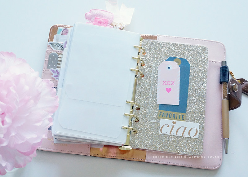 Personal Planner Set Up
