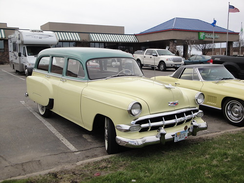 1954 Chevrolet 150 Handyman - After a long, long Winter ...