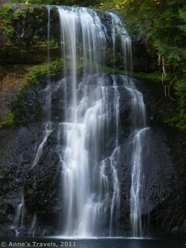 Upper North Falls in Silver Falls State Park, Oregon