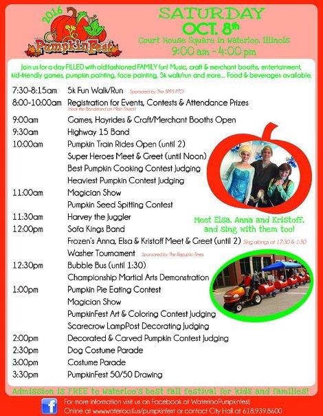 Pumpkin Fest 10-8-16