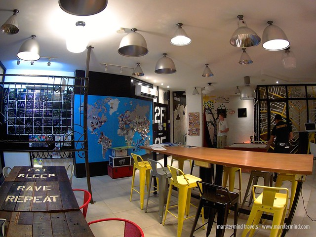 Makati Junction Hostel Common Lounge