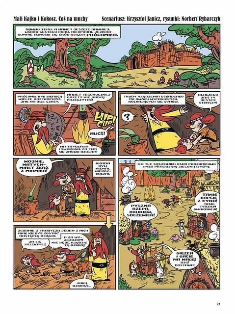 Kajko i Kokosz Nowe Przygody Obłęd Hegemona 03