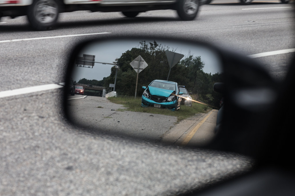 things in the rear view mirror . . .